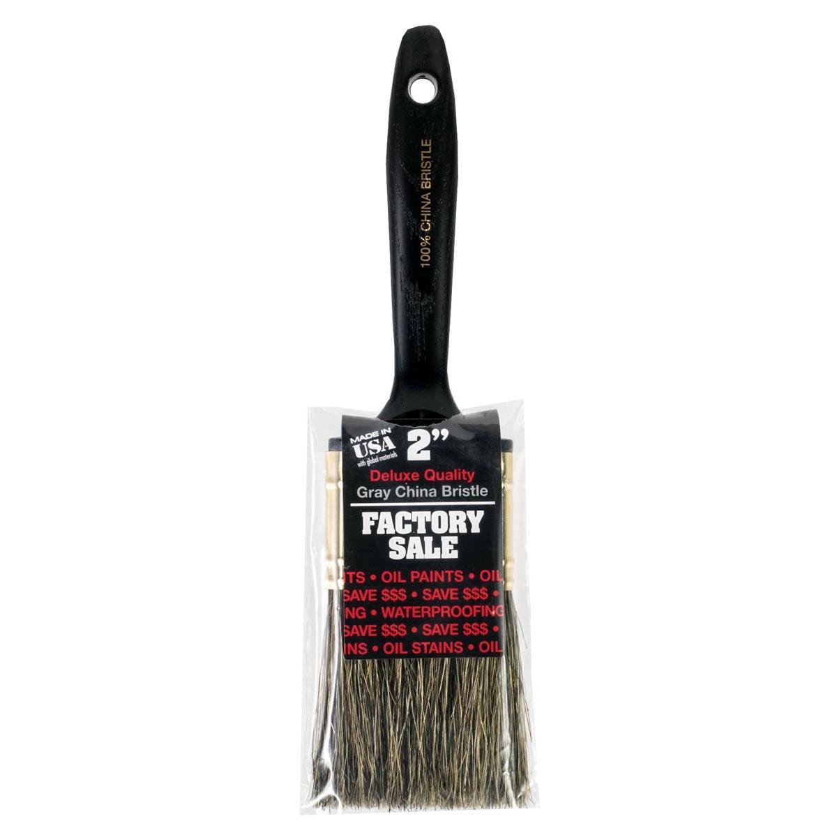 "2"" Factory Sale Gray China Bristle paintbrush"