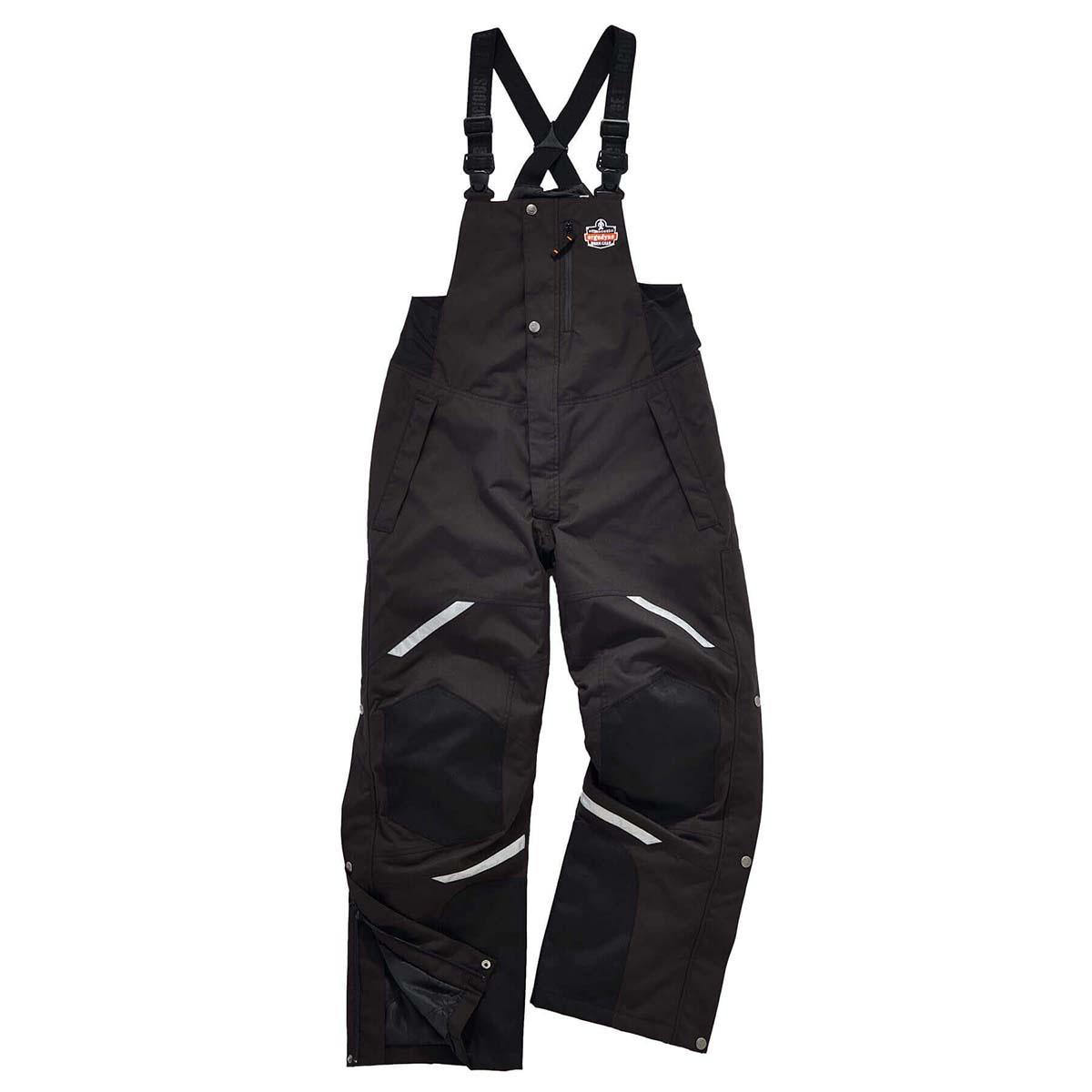 6471 L Black Thermal Bibs