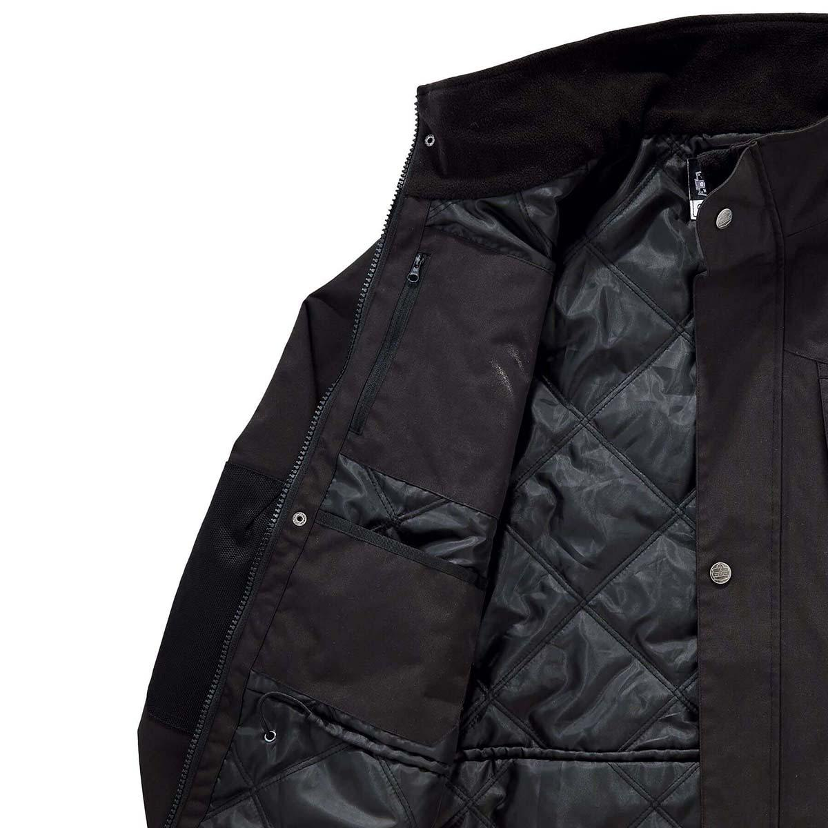 6466 L Black Thermal Jacket