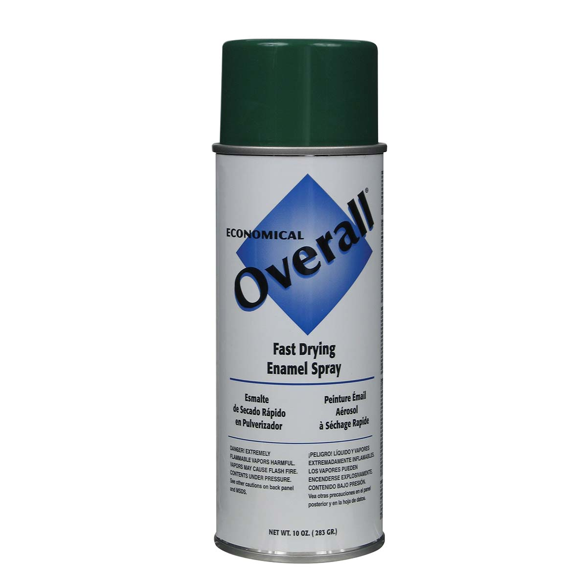 Rust-Oleum V2410830 Overall Economical Fast Drying Enamel Aerosols - Pack of 6 GLOSS GREEN