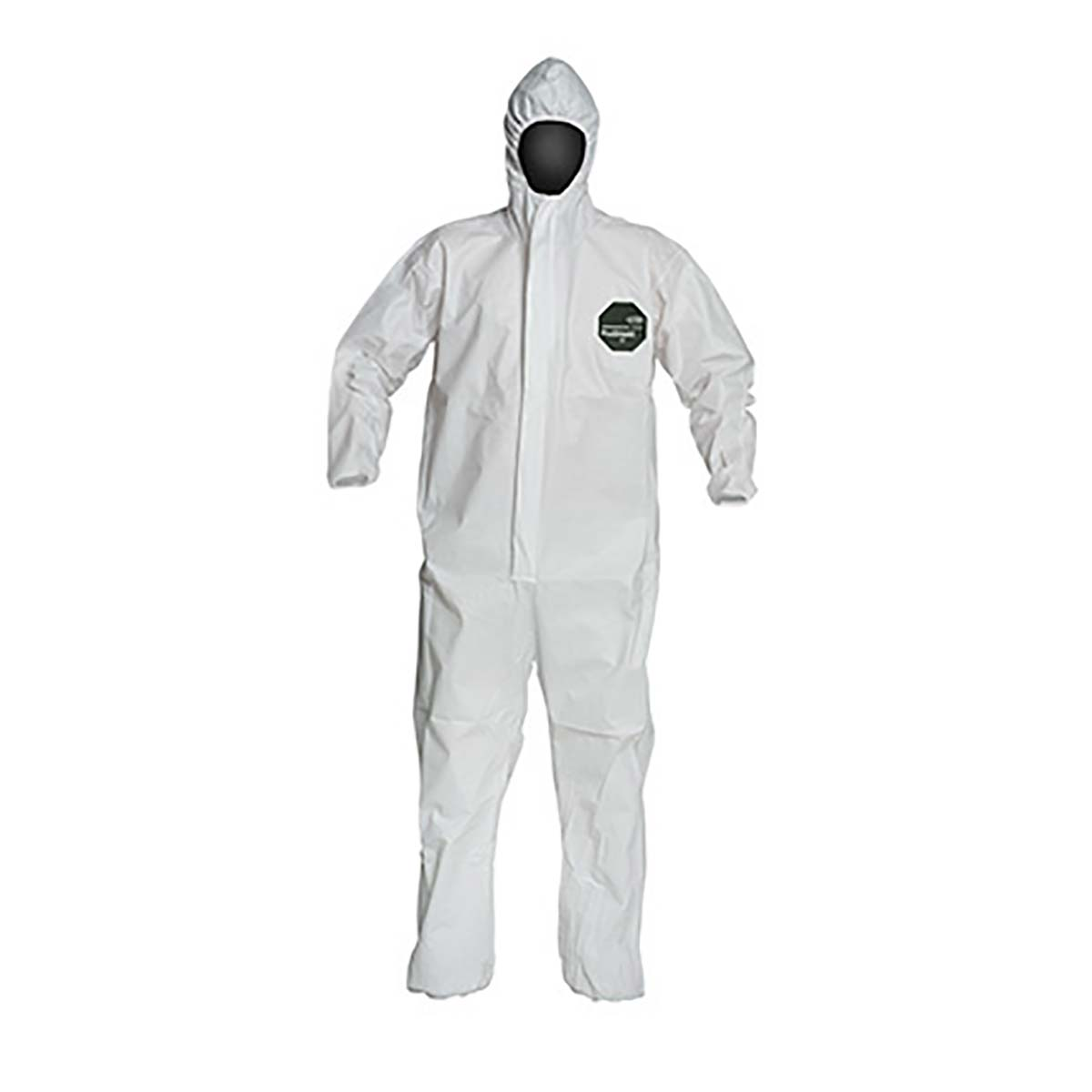 PROSHIELD® 50, COVERALL, ZIPPER FRONT, HOOD, ELASTIC WRIST AND ANKLE, STORMFLAP