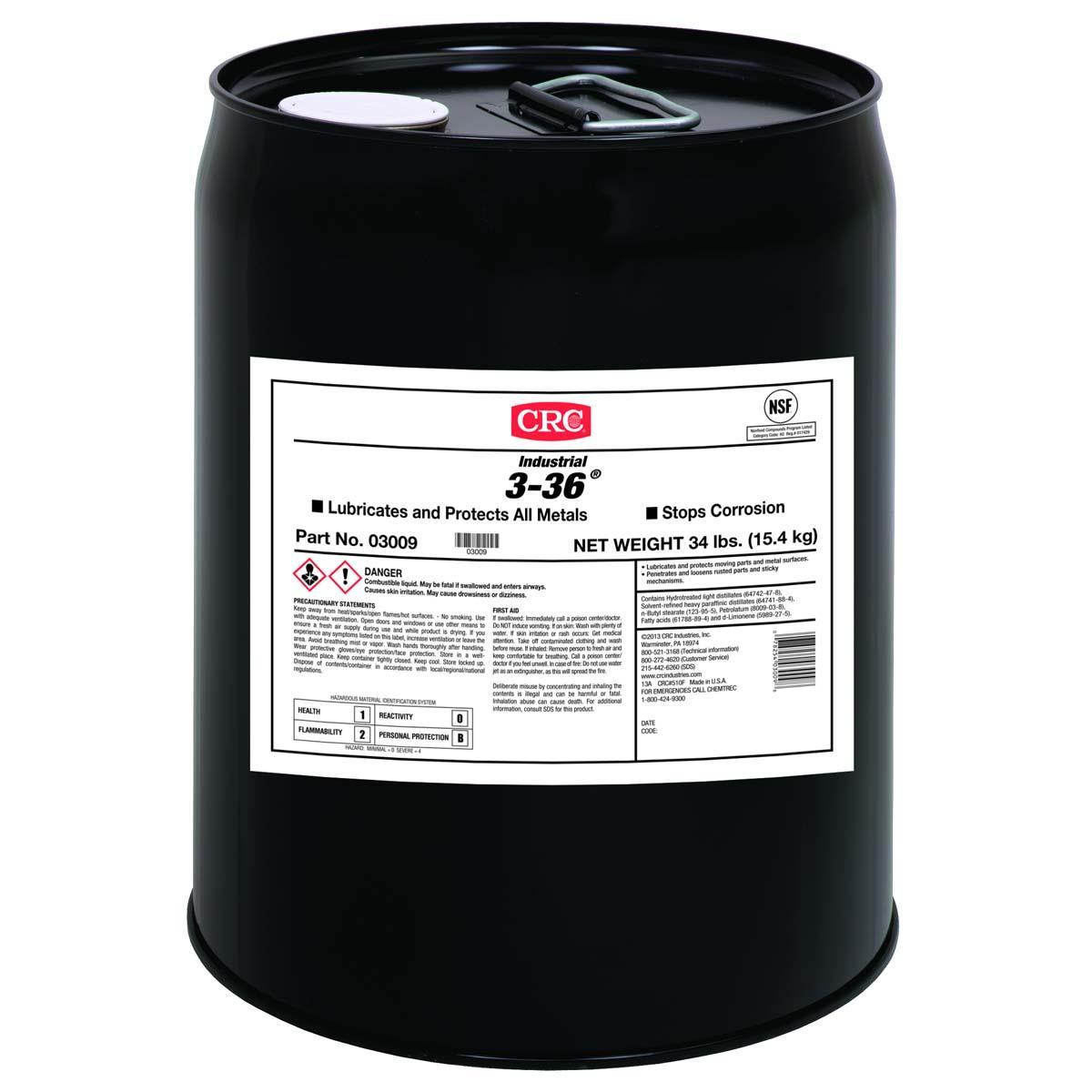 3-36 Multi-Purpose Lubricant & Corrosion Inhibitor, 5 Gal