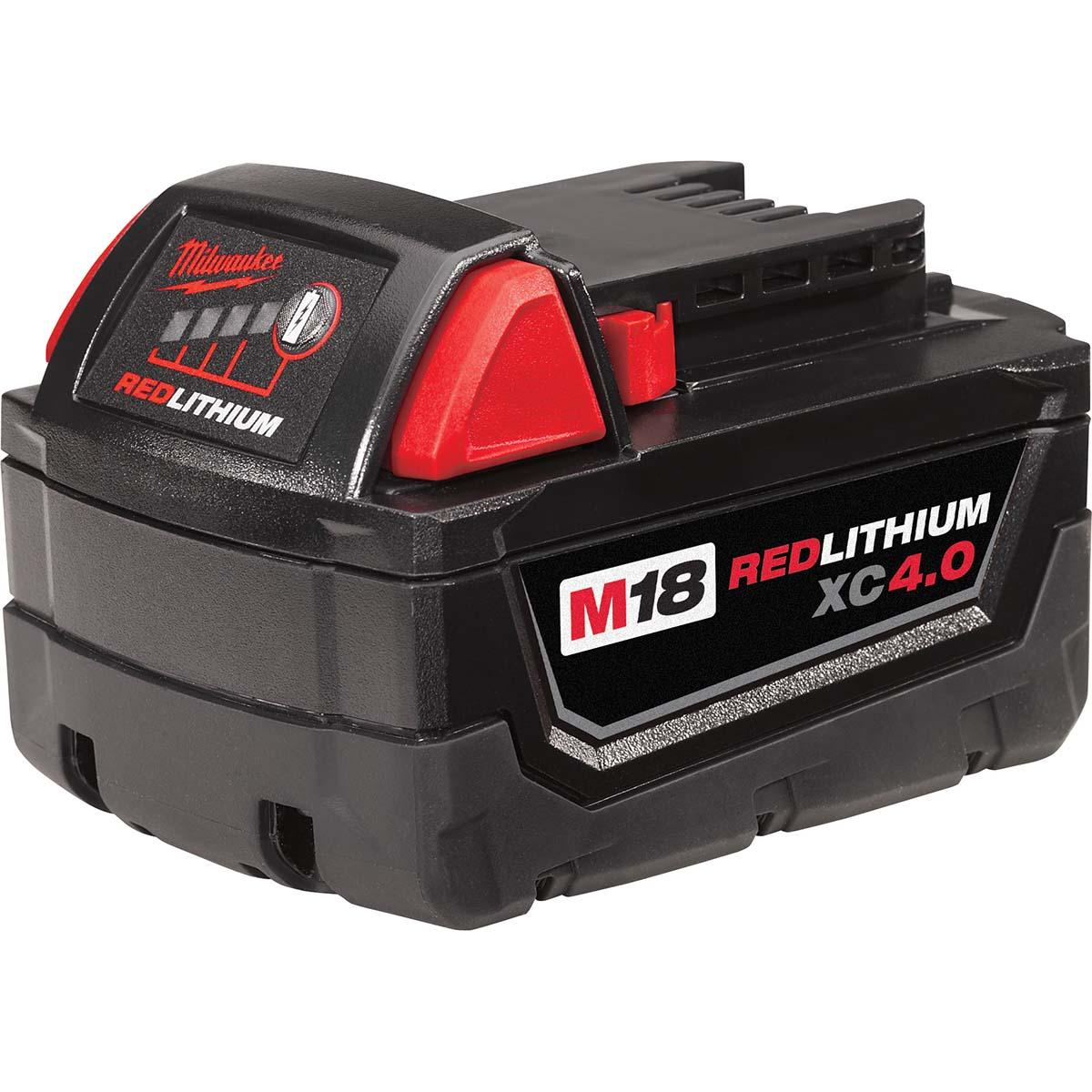 M18 REDLITHIUM XC 4.0 Extended Capacity Battery Pack