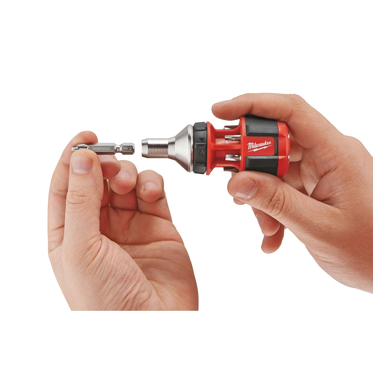 Compact 8IN1 Ratchet Multi Bit Driver