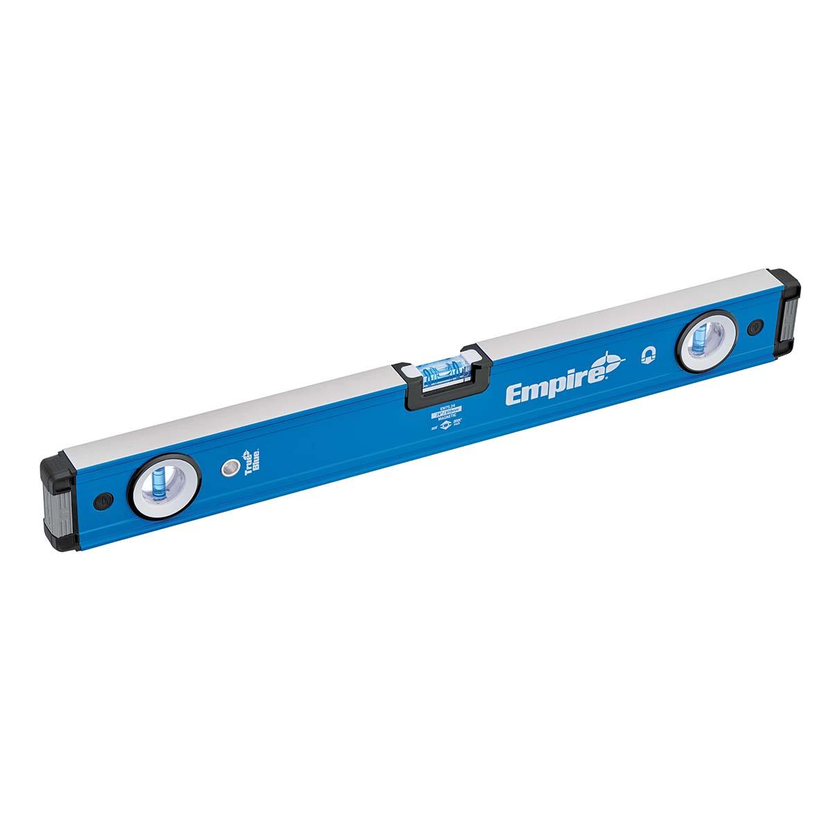 "24"" TRUE BLUE® MAGNETIC BOX LEVEL"