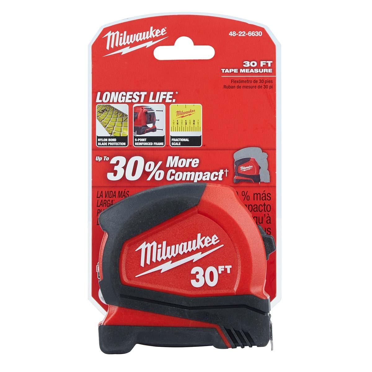 30' Compact Tape Measure