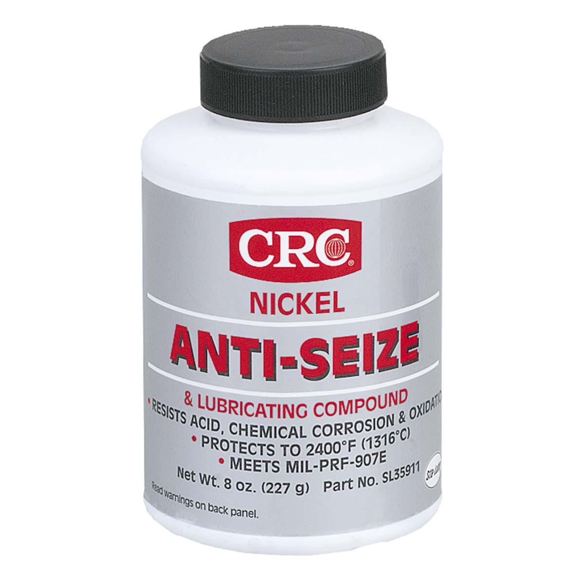 Nickel Anti-Seize Lubricating Compound, 8 Wt Oz