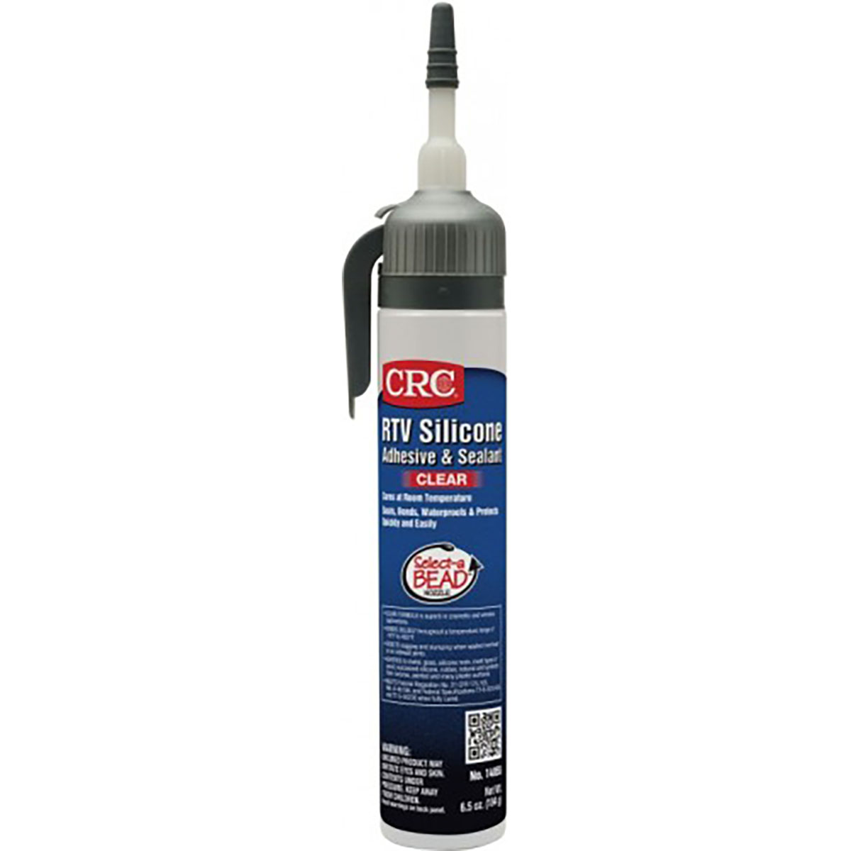 RTV Silicone Sealant - Clear, 6.5 Wt Oz