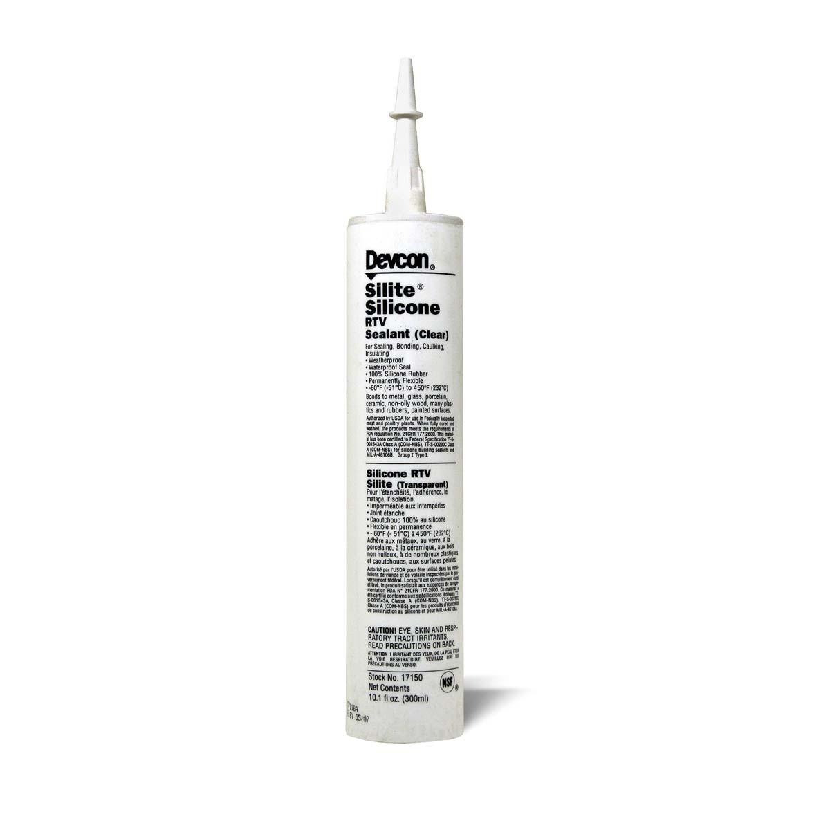 DEVCON® Silite® RTV Silicone* clear - 10.3 fl oz  1 Eac