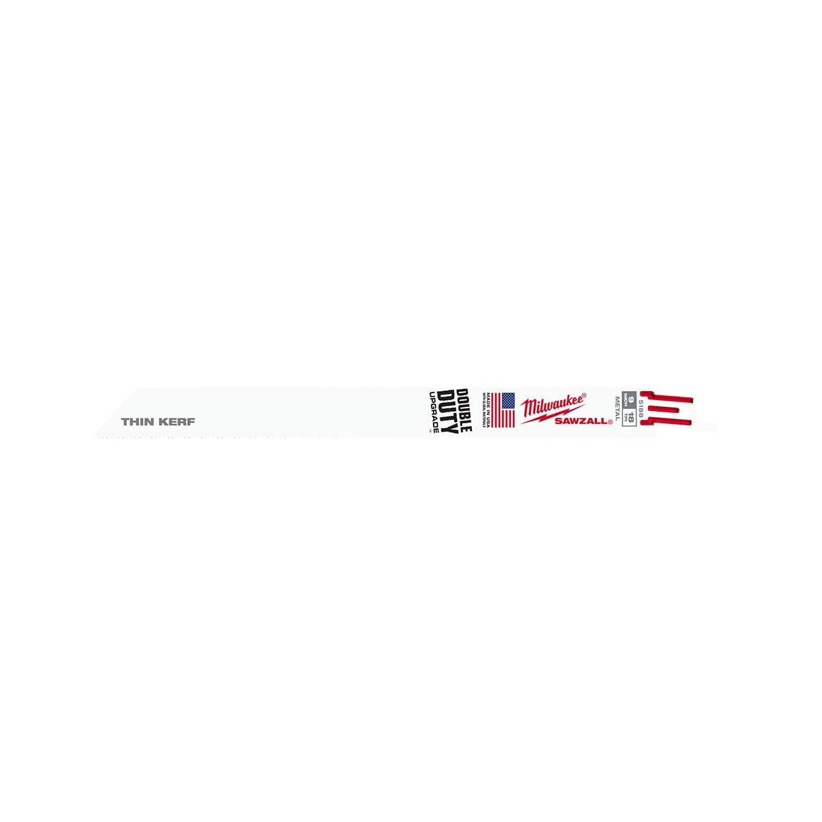 """9"""" 18 TPI Thin Kerf SAWZALL® Blades (5 Pk)"""