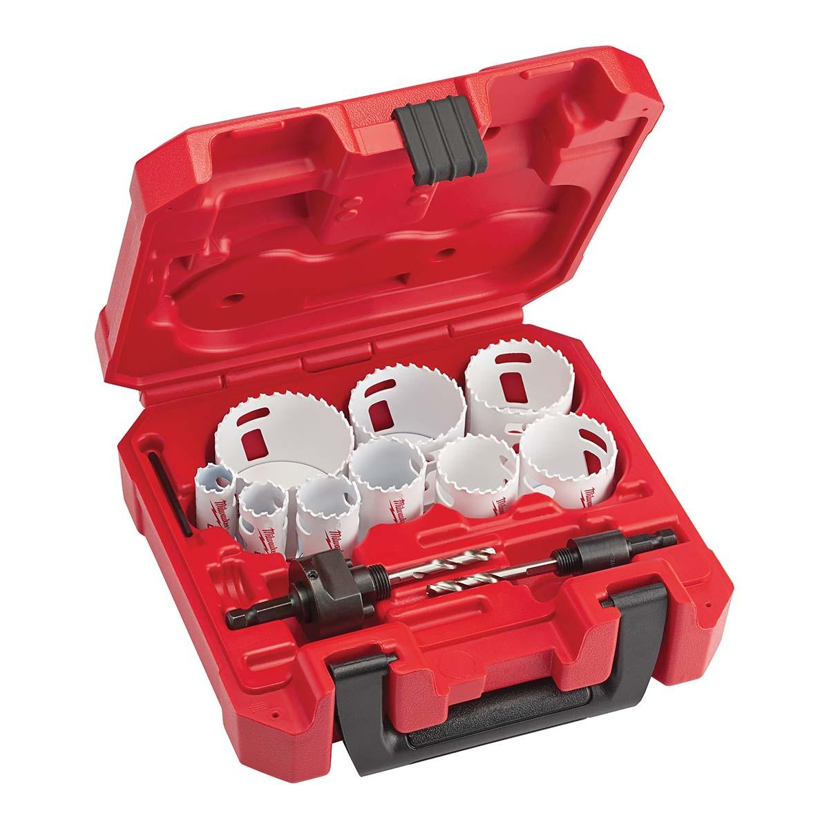 "13 PC General Purpose Hole Dozerâ""¢ Hole Saw Kit"