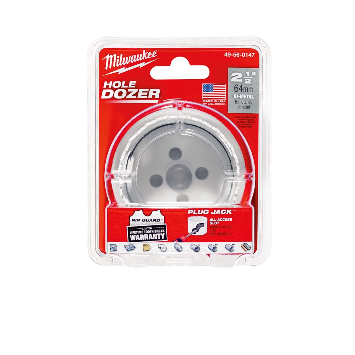 "2-1/2"" Hole Dozerâ""¢ Bi-Metal Hole Saw"