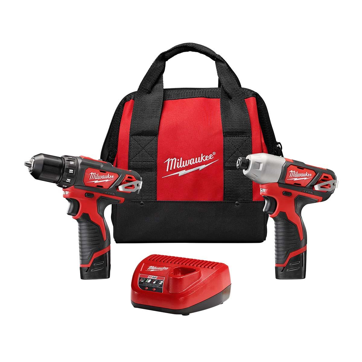 "M12â""¢ Cordless LITHIUM-ION 2-Tool Combo Kit"