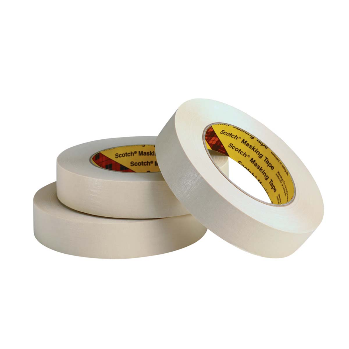 3M Paint Masking Tape 231/231A Tan, 24 mm x 55 m 7.6 mil