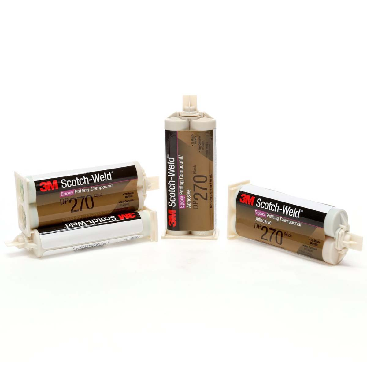 3M Scotch-Weld Epoxy Potting Compound DP270 Clear, 400 mL, 6 per case