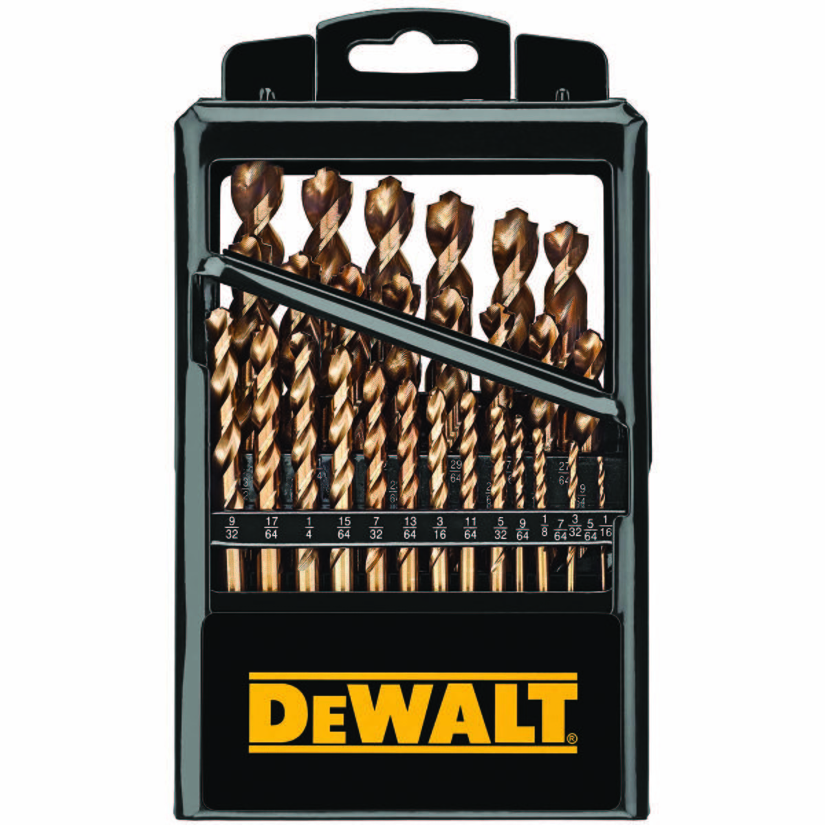 "Drill Bit And Tap Set 3/8""-16 Tap & 5/16"" Drill Bit - 29 PC PP INDUSTRIAL COBALT SET"