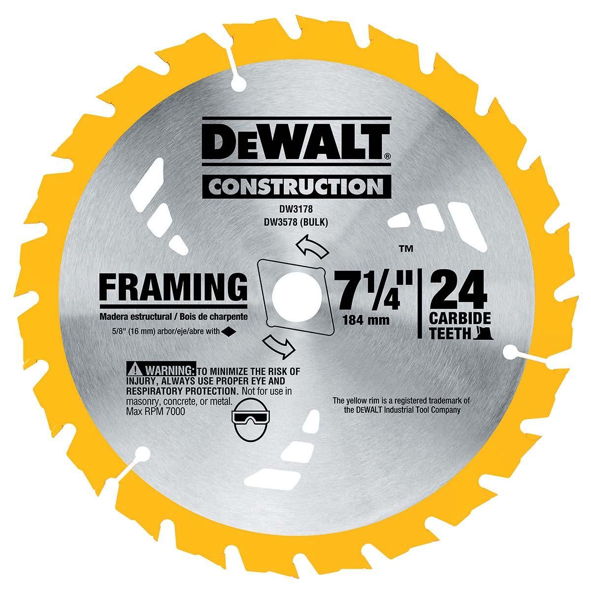 """7-1/4"""" Rear Pivot Circular Saw Kit w/ Electric Brake"""
