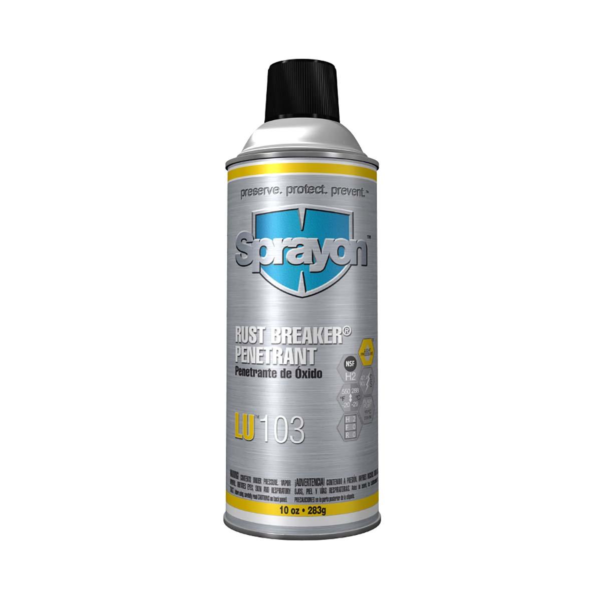 Sprayon High-Performance Rust Penetrant - Rust Breaker - Aerosol