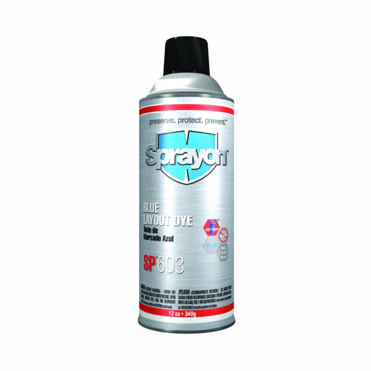 Sprayon Blue Layout Dye - Aerosol