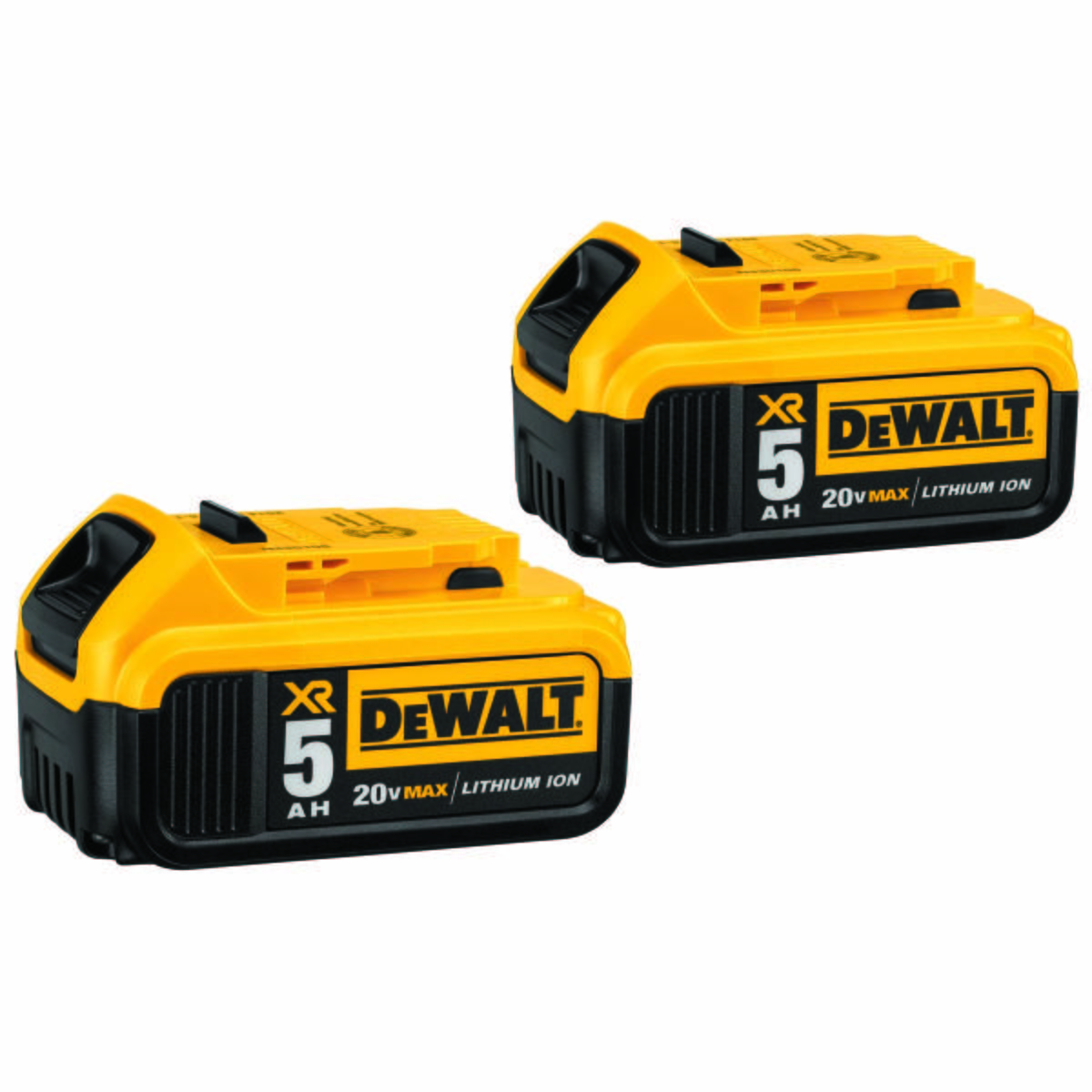 20V MAX* 5 ah Battery Double Pack