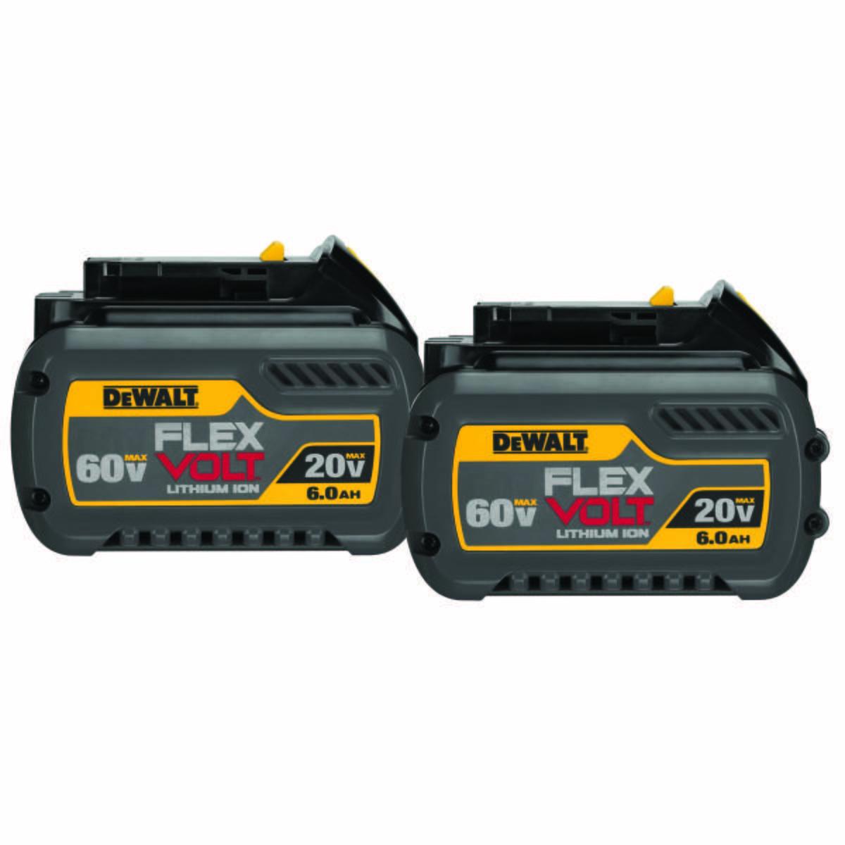 FLEXVOLT 20/60V MAX BATTERY PACK 6.0AH DUAL PACK