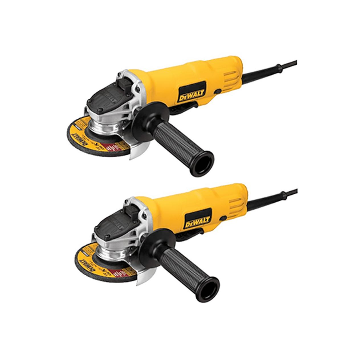 2-Pack  4-1/2 (115 mm) Paddle Switch Small Angle Grinder