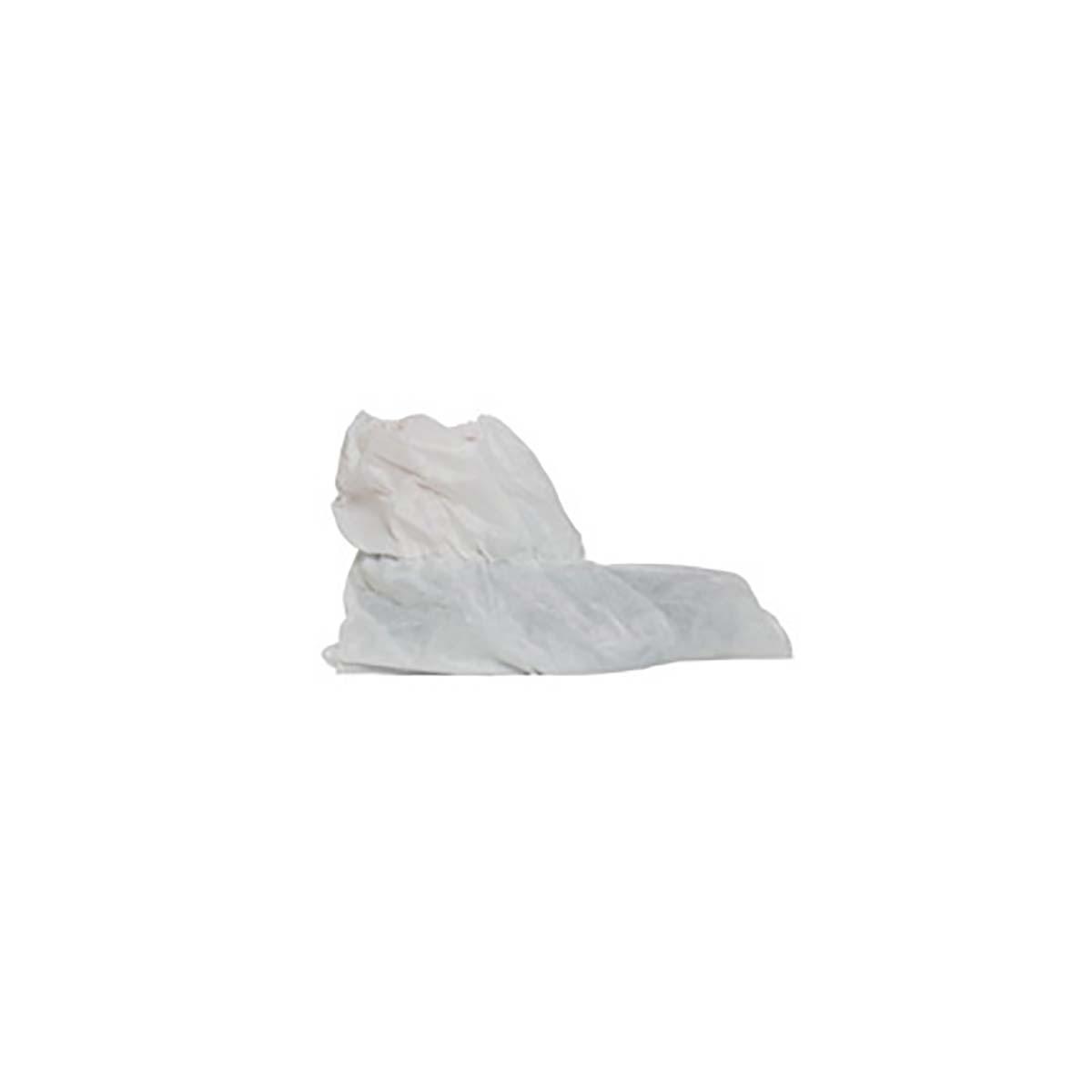 "PROSHIELD 40  SHOE COVER  SERGED SEAMS  ELASTIC OPENING  5.5"""" HIGH  WHITE  200/BOX"
