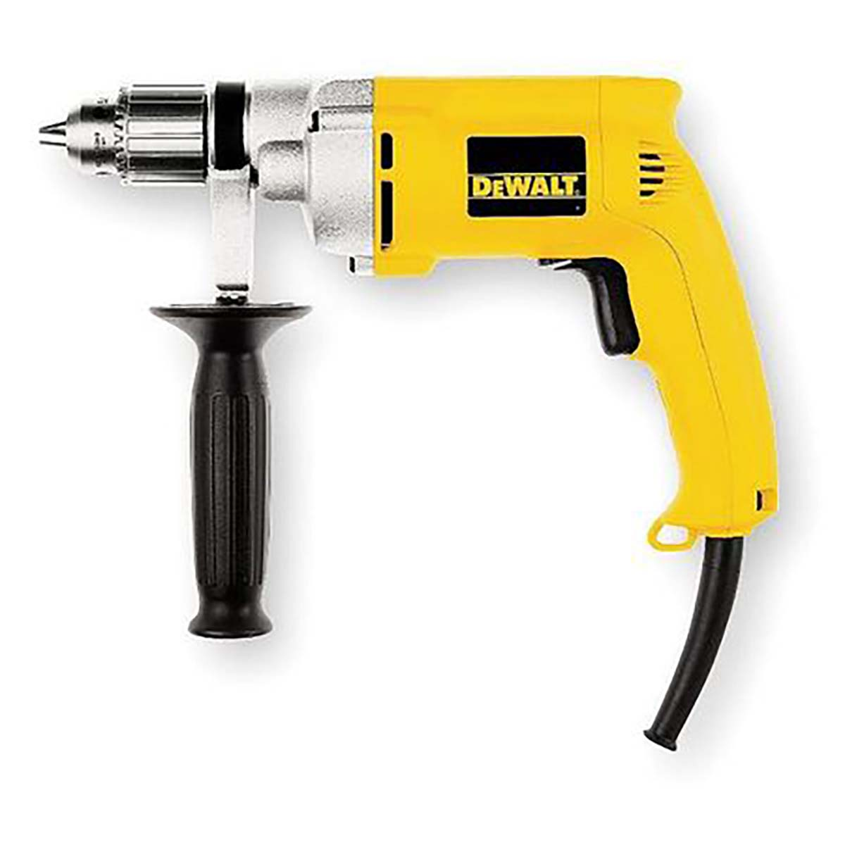 "0-4000 rpm VSR Drywall Screwdriver 6.0 amp 1/2"" 0-850 rpm VSR Drill 3 wire plug 7.8 amp"