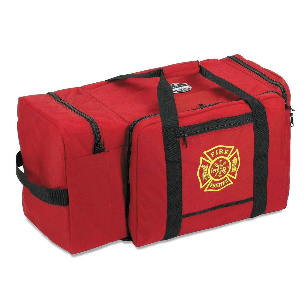 GB5005P  Red Large Fire & Rescue Gear Bag - Polyester