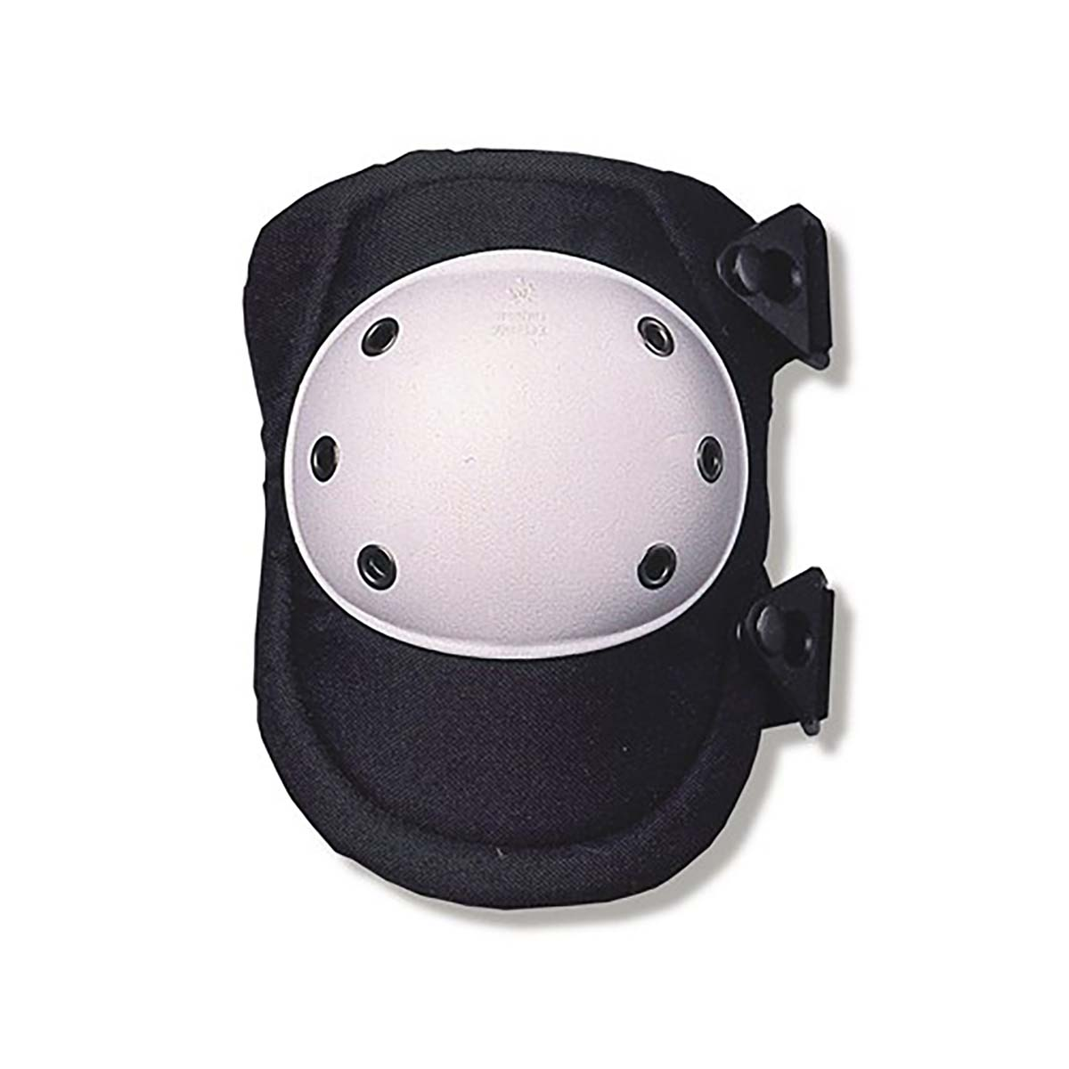 300  White Cap Rounded Hard Cap Knee Pad