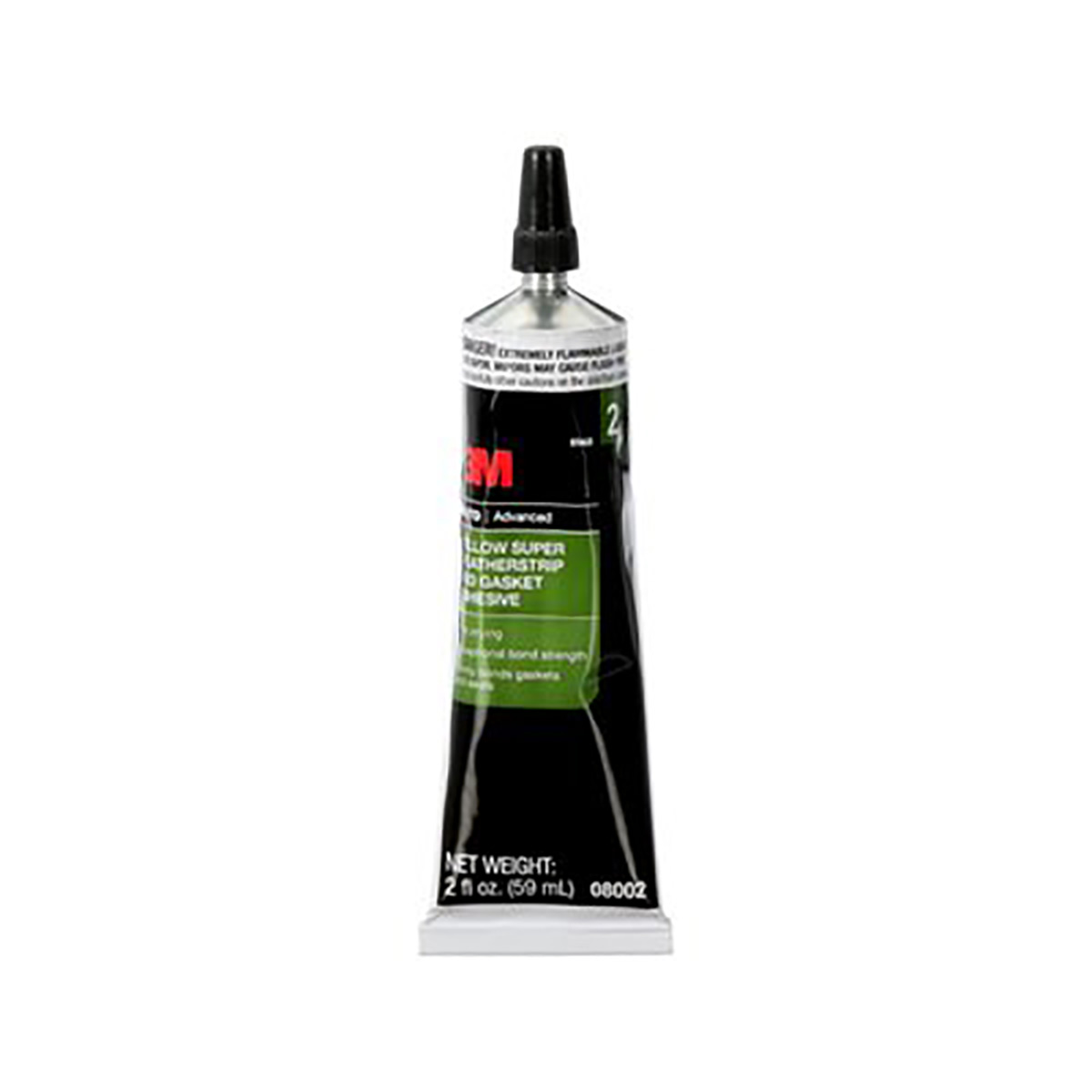 3M(TM) Yellow Super Weatherstrip and Gasket Adhesive, 08001, 5 fl oz