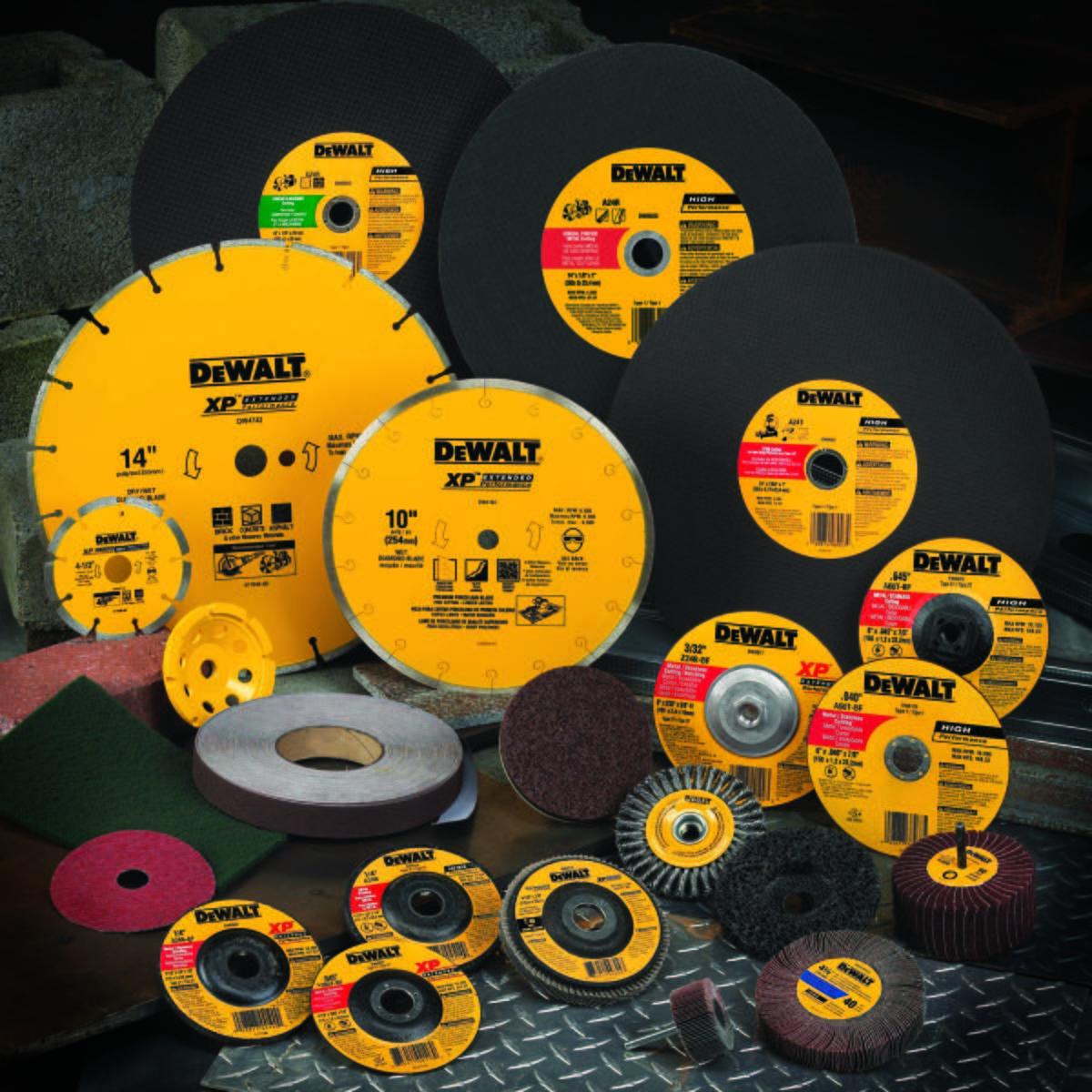 DeWalt General Purpose Grinding Wheel: 4 1/2 in Wheel Dia, 7/8 in Center Hole Dia, 1/4 in Wheel Thickness, Type 27 Type - 4-1/2X1/4 METAL GP (BLK)