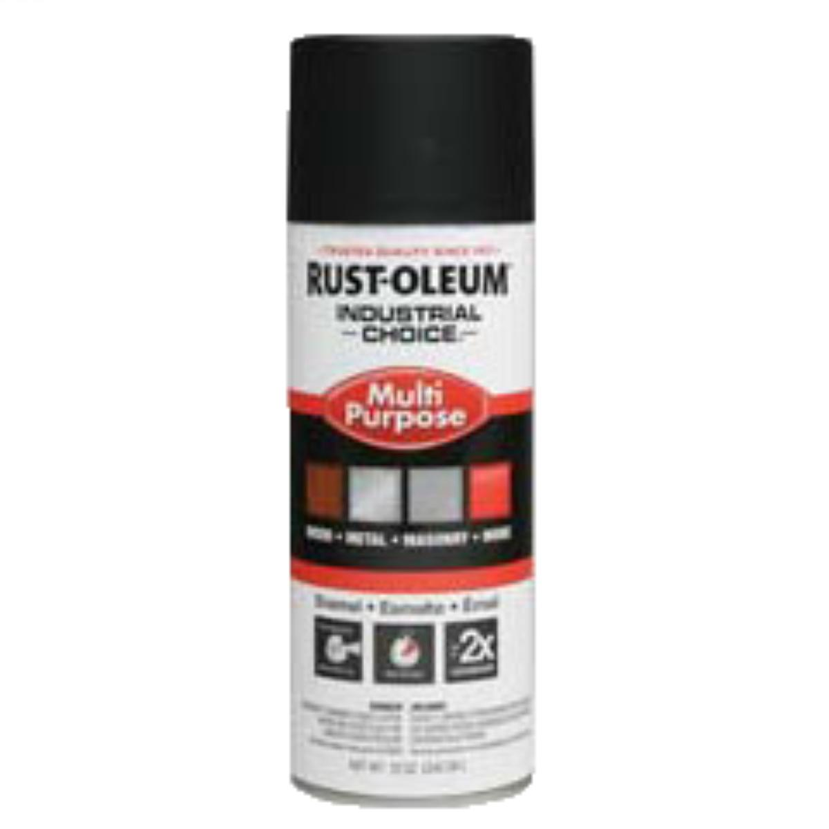 Rust-Oleum 1678830 Industrial Choice 1600 System Enamel Aerosols - Pack of 6