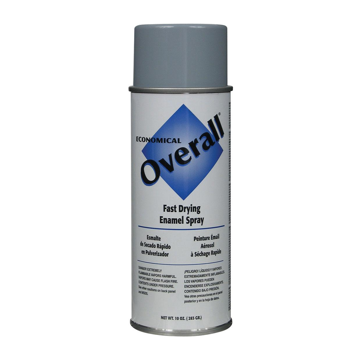 Rust-Oleum Overall Light Gray Enamel Spray Paint (Actual Net Contents: 10-oz)