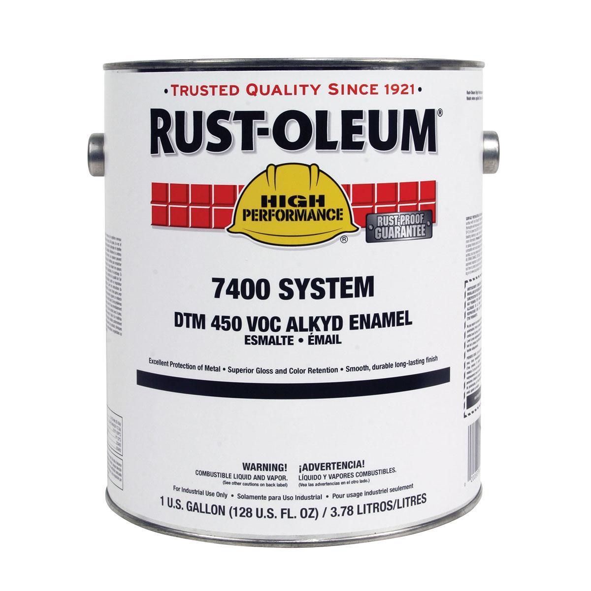 RUST-OLEUM 7400 ALKYD ENAMEL, MACHINE TOOL GRAY, 1 G