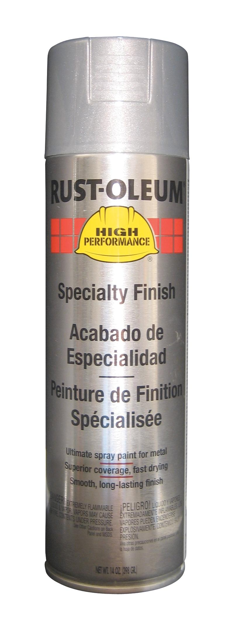 RUST-OLEUM SPRAY PAINT, SILVER ALUMINUM, 14 OZ.