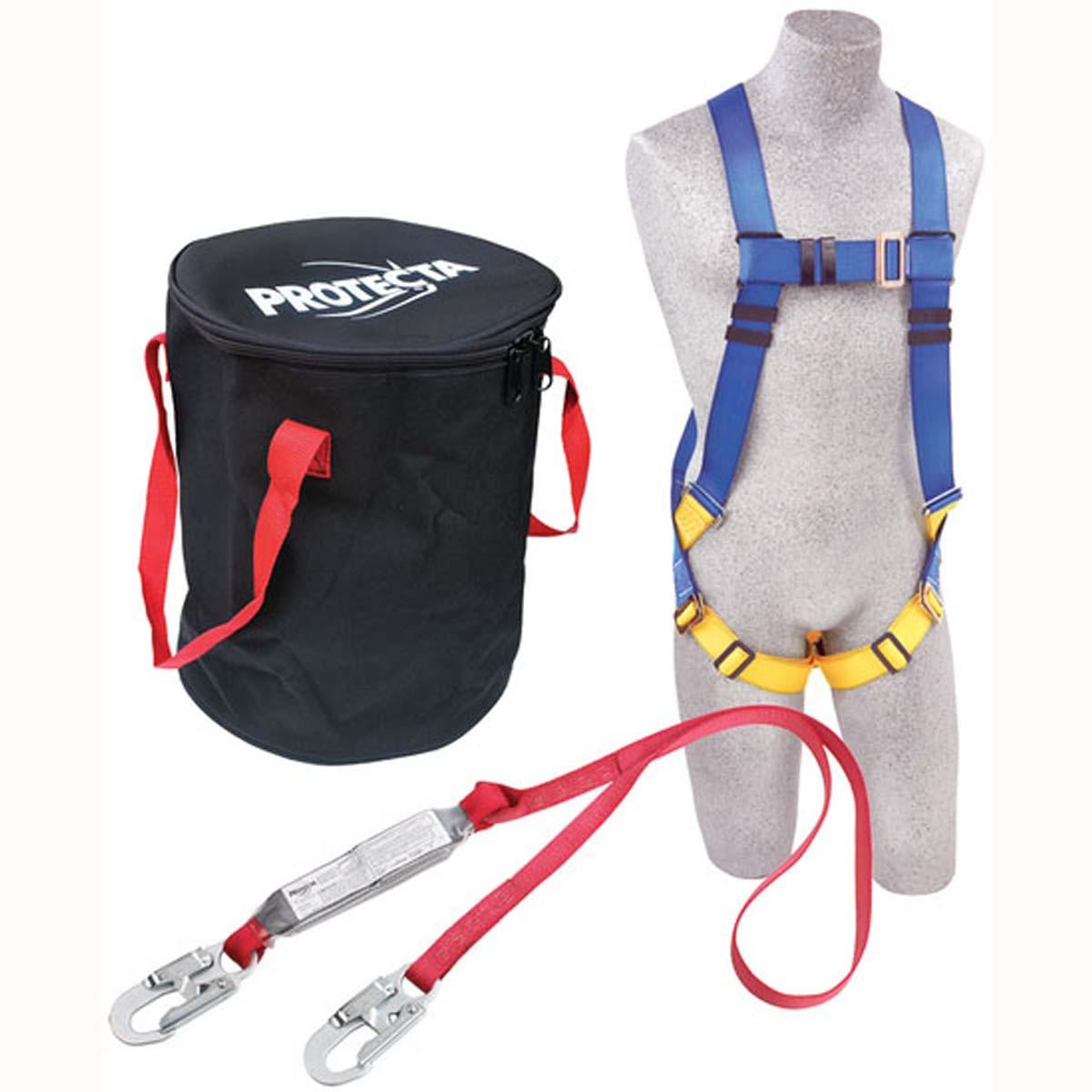 "Compliance in a Canâ""¢ Light Roofer's Fall Protection Kit - In a bag"