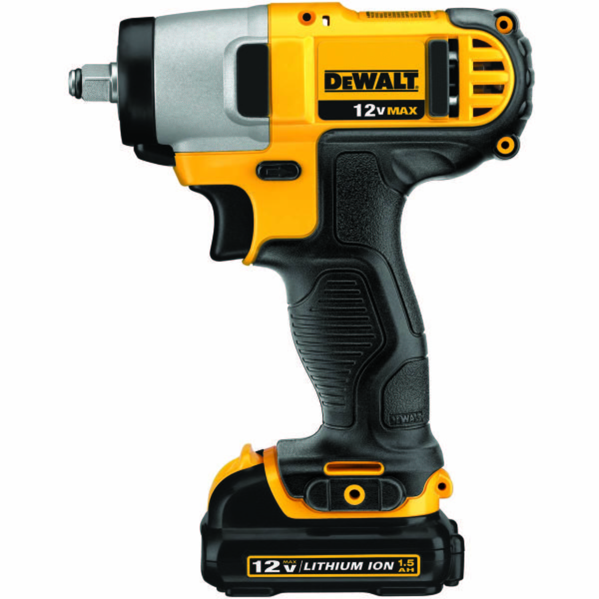 """12V MAX* Lithium Ion 3/8"""" Impact Wrench Kit"""