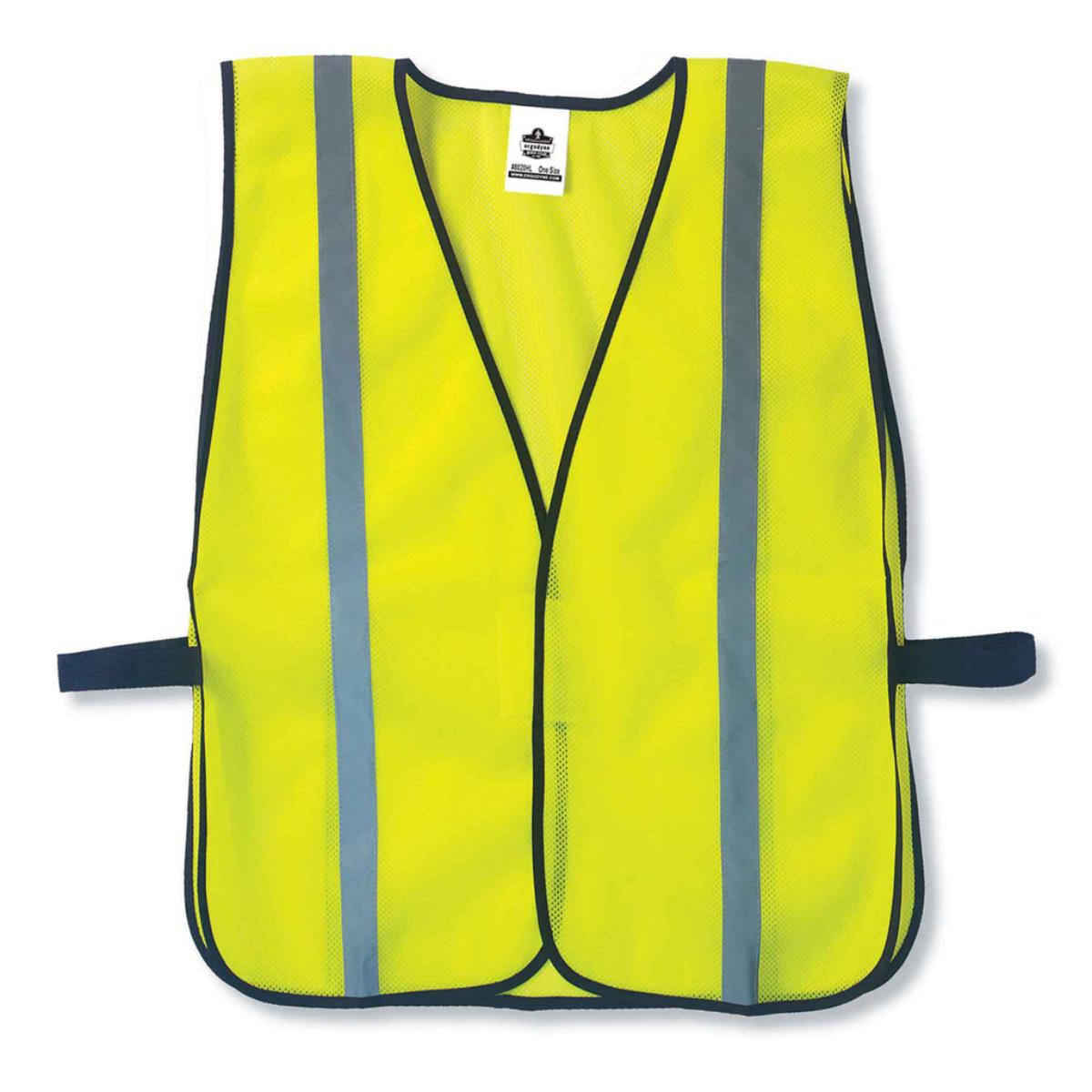 8020HL  Orange Non-Certified Standard Vest