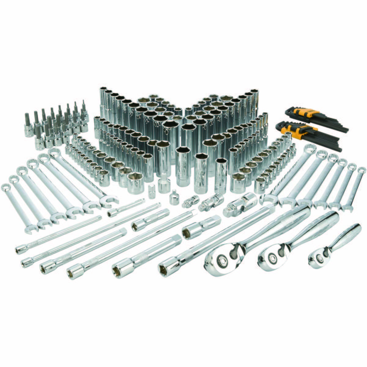 204 pc Mechanics Tool Set