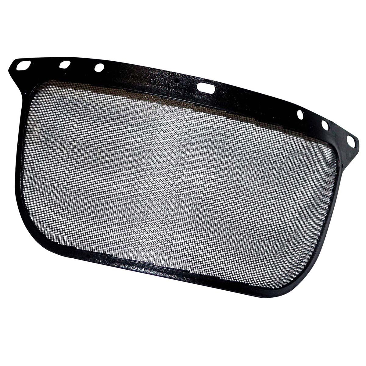 "Jackson Safety F60 Wire Face Shield (29102), Wire Mesh, 6.5"" x 15.5"" x 0.02"", Reusable Face Protection, Shape N, Bound, 30 Shields / Case"