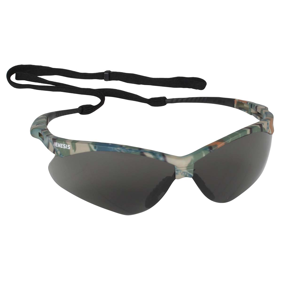 Jackson Safety V30 Nemesis Safety Glasses (22609), Smoke Anti-Fog Lens, Camo Frame, 12 Pairs / Case
