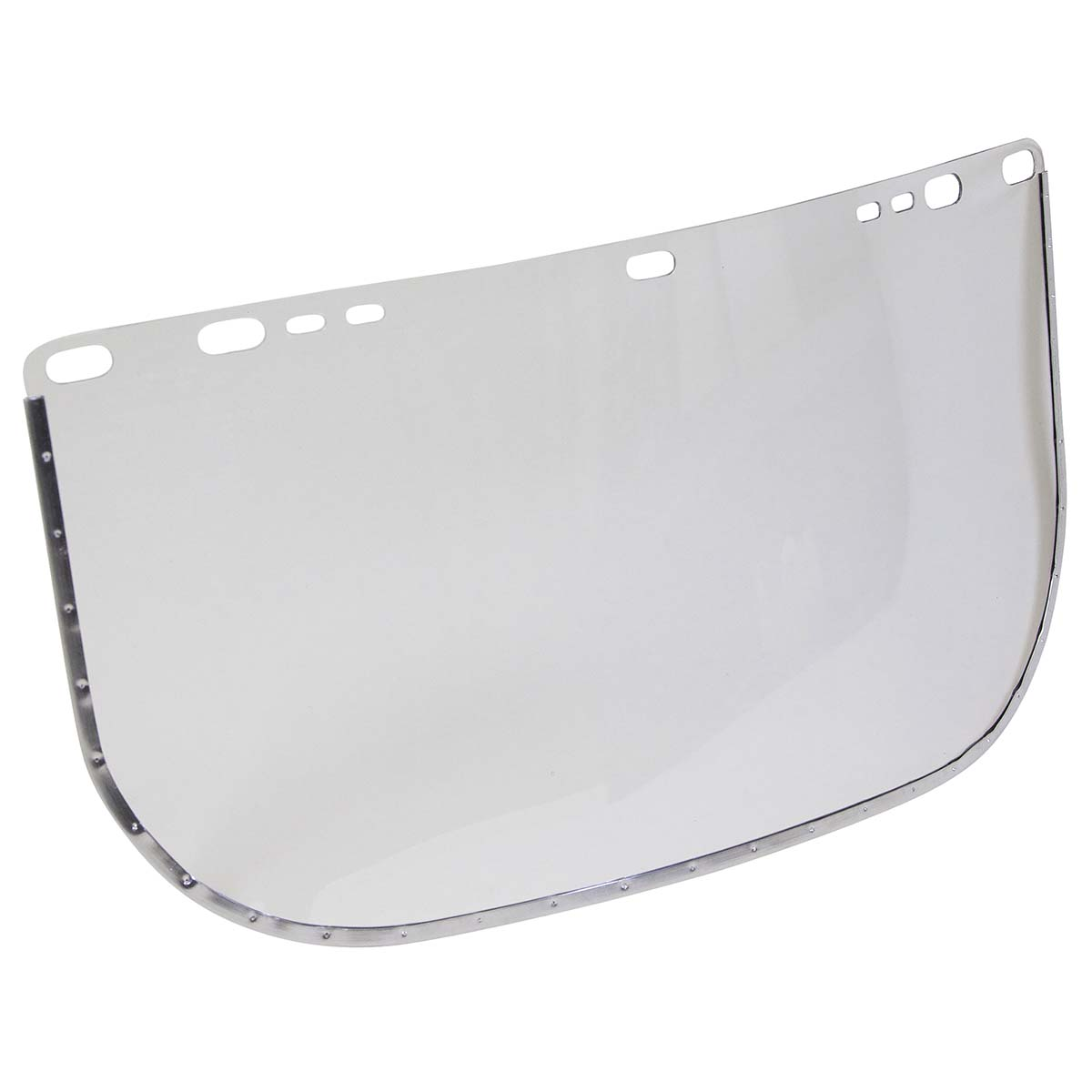 "Jackson Safety F30 Acetate Face Shield (29052), 8"" x 15.5"" Clear, Reusable Face Protection, 24 Shields / Case"