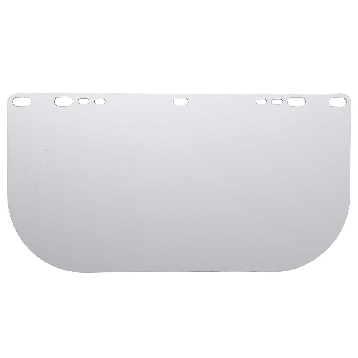 """Jackson Safety F20 High Impact Face Shield (30706), Polycarbonate, 8"""" x 15.5"""" x 0.04"""", Clear, Face Protection, Unbound, 36 Shields / Case"""
