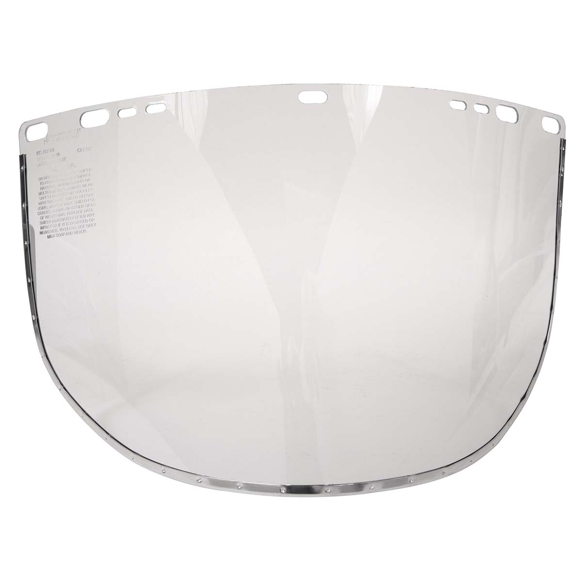 "Jackson Safety F30 Acetate Face Shield (29079), 9"" x 15.5"" Clear, Reusable Face Protection, 24 Shields / Case"