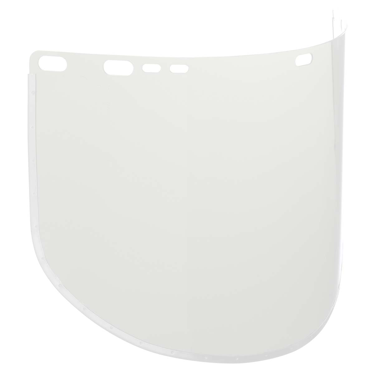 """Jackson Safety F30 Acetate Face Shield (29091), 9"""" x 15.5"""", Clear, Reusable Face Protection, 50 Shields / Case"""