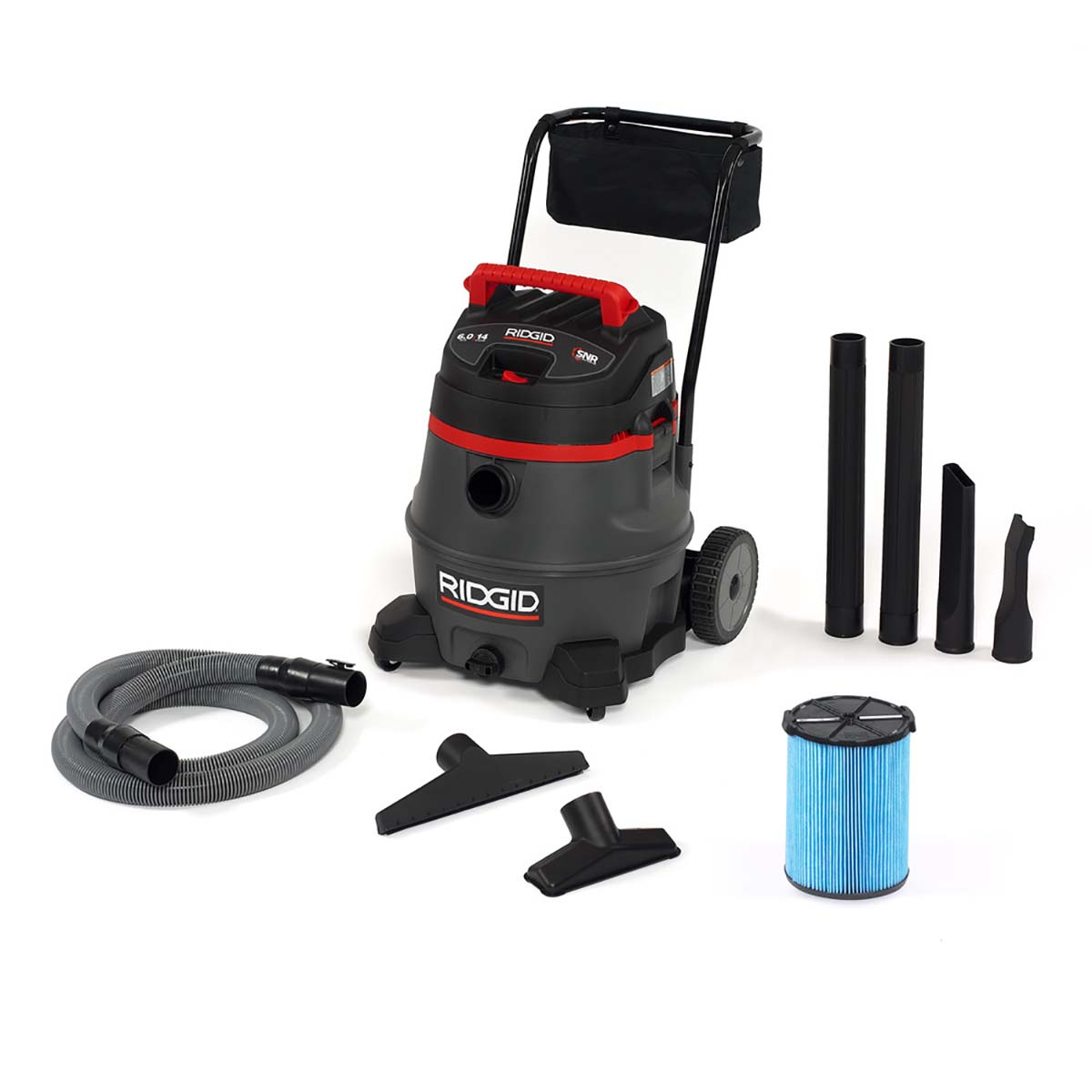 14 Gallon Wet/Dry Vac with Cart (1400RV)