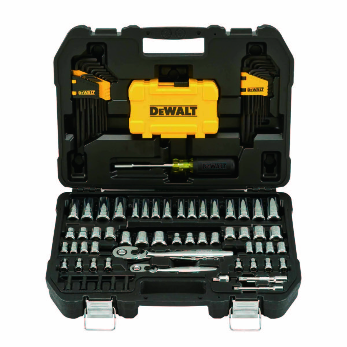 DEWALT Mech Tool Kit, 108 Piece Set, with PTA Case