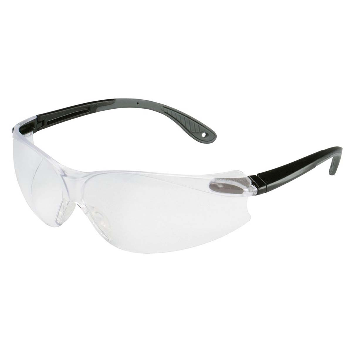 3M Virtua V4 Protective Eyewear 11670-00000-20 Clear HC Lens, Black/Gray Temple