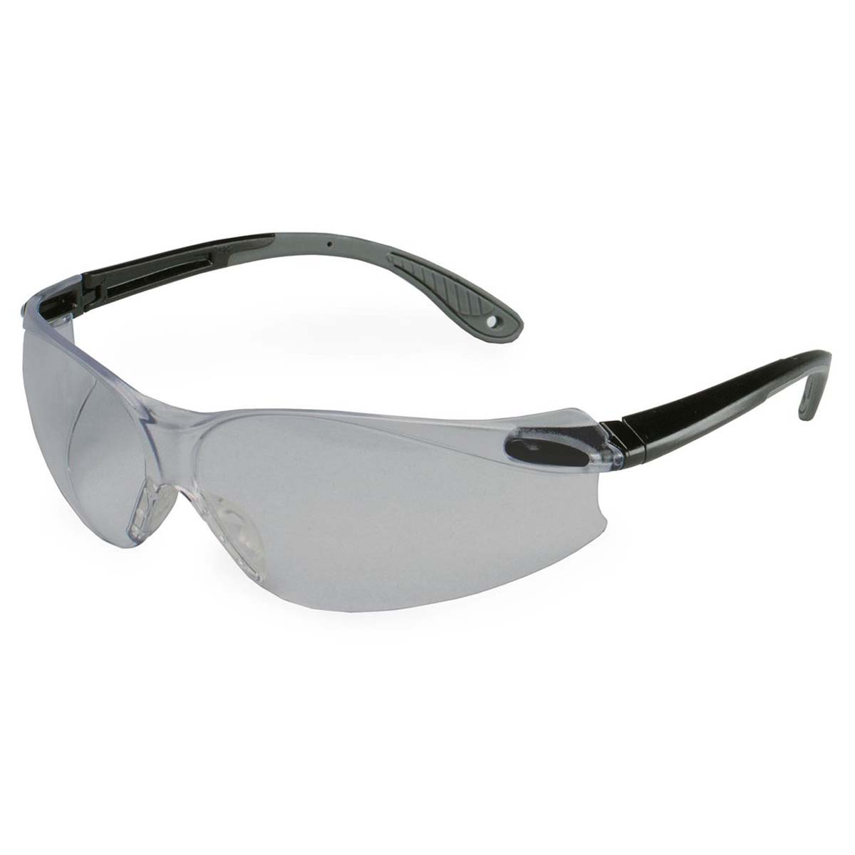 3M Virtua V4 Protective Eyewear 11673-00000-20 Gray Anti-Fog Lens, Black/Gray Temple
